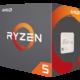 AMD Ryzen 5 1600X  + AMD Wraith Max cooler, with RGB LED v ceně 900 Kč