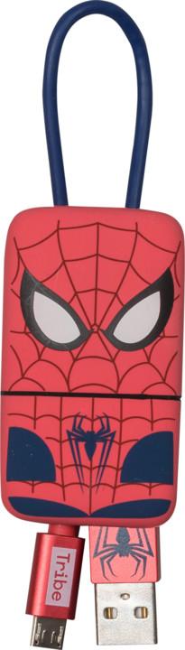 Tribe Marvel Spiderman Micro USB Keyline přívěšek na klíče (22cm) - Červený