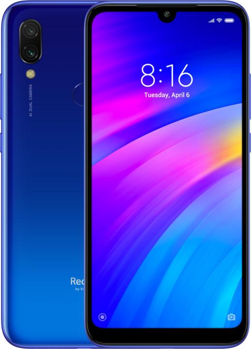 Xiaomi Redmi 7, 2GB/16GB, modrá