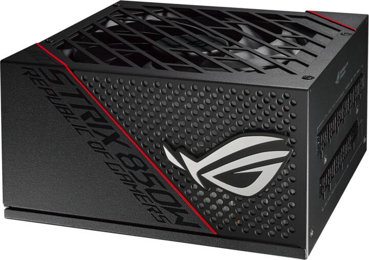 ASUS ROG-STRIX-850G - 850W, černá