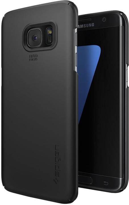 Spigen Thin Fit, black - Gal S7 edge