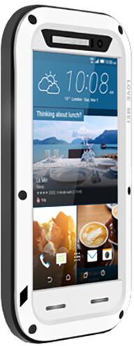 Love Mei Case ochranné pouzdro Powerbul pro HTC M9, white