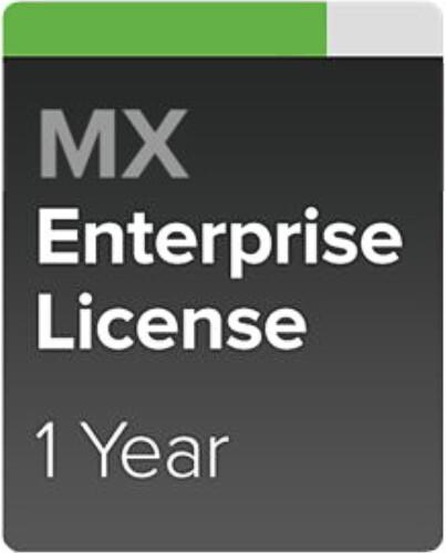 Cisco Meraki MX64W-ENT Enterprise a Podpora, 1 rok