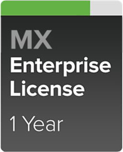 Cisco Meraki MX64-ENT Enterprise a Podpora, 1 rok