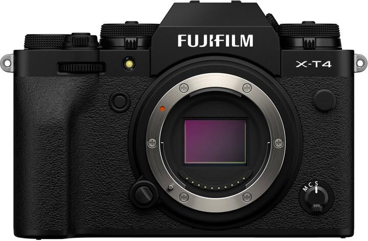 Fujifilm X-T4, tělo, černá