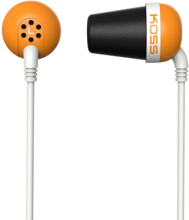 KOSS The Plug, oranžová