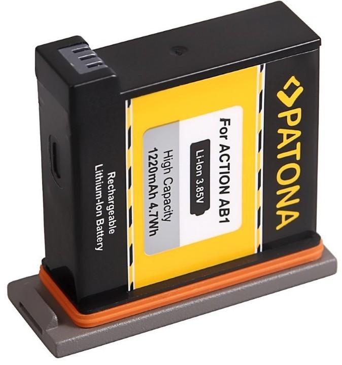 Patona baterie pro digitální kameru DJI Osmo Action 1220mAh Li-Ion 3,85V DJI0630