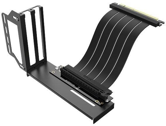 Akasa Riser black Pro, vertikální VGA držák