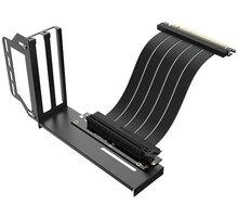 Akasa Riser black Pro, vertikální VGA držák - AK-CBPE02-20B