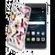 Cellularline STYLE průhledné gelové pouzdro pro Huawei P9, motiv GLAM