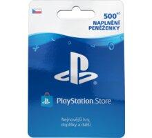 PlayStation Store naplnění peněženky - 500 Kč