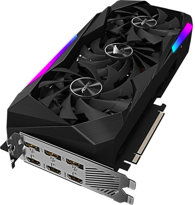 GIGABYTE GeForce RTX 3070 AORUS MASTER 8G, LHR, 8GB GDDR6