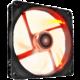 NZXT RF-FZ140-R1, 140mm ventilátor, červená