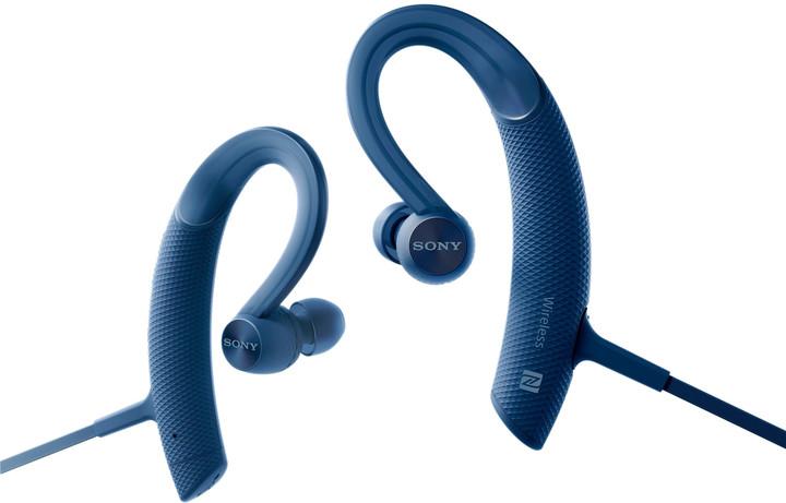 Sony MDR-XB80BS, modrá