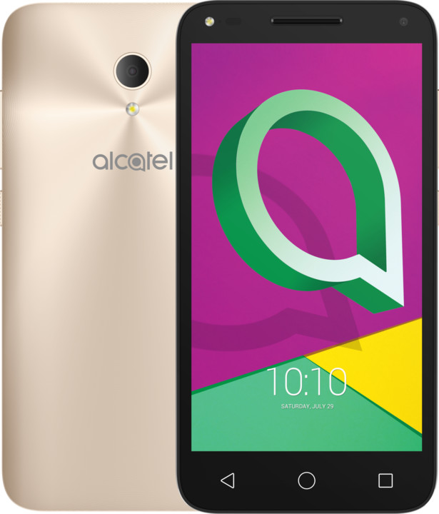ALCATEL U5 3G PREMIUM 4047F, zlatá