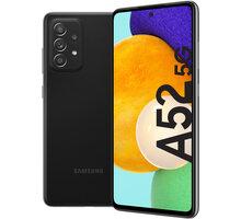 Samsung Galaxy A52 5G, 6GB/128GB, Awesome Black - SM-A526BZKDEUE + Antivir Bitdefender Mobile Security for Android 2020, 1 zařízení, 12 měsíců v hodnotě 299 Kč