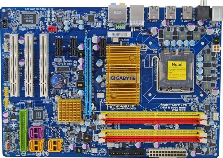 Gigabyte GA-P35-DS3 - Intel P35