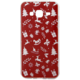 EPICO pružný plastový kryt pro Samsung Galaxy J3 (2016) RED XMAS