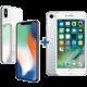 Apple iPhone X, 64GB, stříbrná