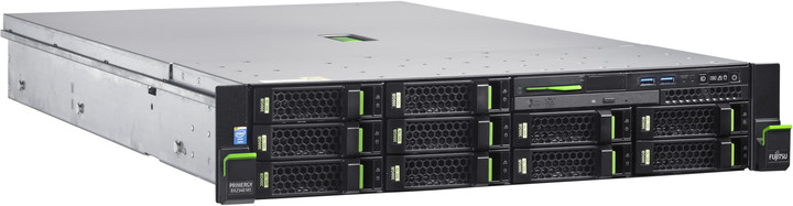 Fujitsu Primergy RX2540M1 /E5-2620v3/8GB ECC/Bez HDD/Bez GPU/450W - rack