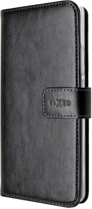 FIXED Pouzdro typu kniha Opus pro Nokia 8, černé