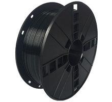 Gembird tisková struna (filament), PLA+, 1,75mm, 1kg, černá O2 TV Sport Pack na 3 měsíce (max. 1x na objednávku)