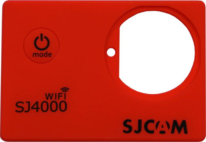 SJCAM ochranný kryt pro SJ4000 WIFI, červený
