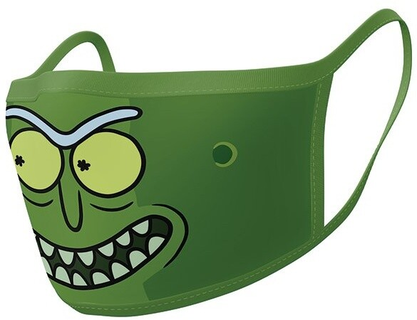 Rouška Rick and Morty - Pickle Rick