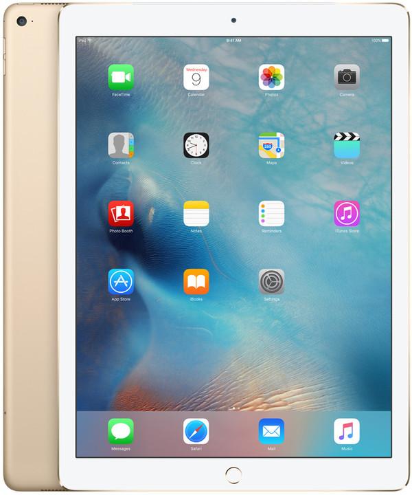 APPLE iPad Pro Cellular, 128GB, Wi-Fi, zlatá