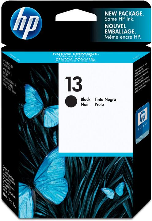 HP C4814AE, no.13, černá