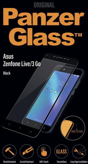 PanzerGlass Edge-to-Edge pro Asus Zenfone Live/3 Go, černé