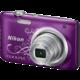 Nikon Coolpix A100, fialová lineart  + Voucher až na 3 měsíce HBO GO jako dárek (max 1 ks na objednávku)