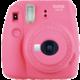 Fujifilm Instax MINI 9, růžová + Instax mini film 10ks  + Voucher až na 3 měsíce HBO GO jako dárek (max 1 ks na objednávku)