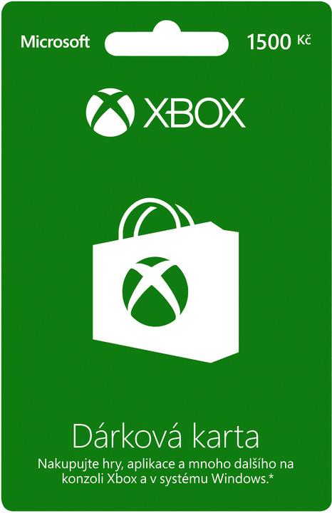 Microsoft Xbox Live dárková karta 1500 Kč