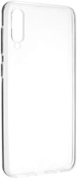 FIXED ultratenké TPU gelové pouzdro Skin pro Samsung Galaxy A50, 0,6 mm, čiré
