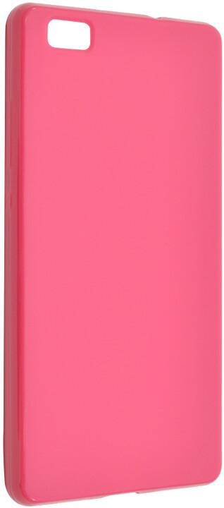 FIXED pouzdro pro Huawei P8 Lite, růžová