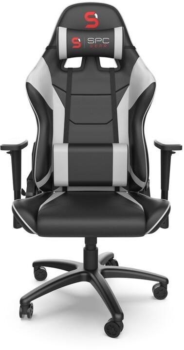 SPC Gear SR300 V2 WH, černá/bílá