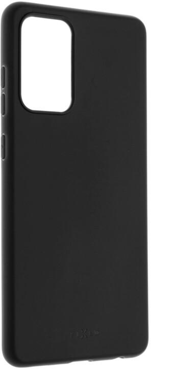 FIXED pogumovaný kryt Story pro Samsung Galaxy A72/A72 (5G), černá