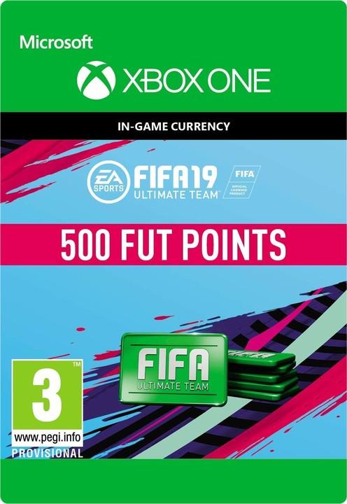 FIFA 19 - 500 FUT Points (Xbox ONE) - elektronicky