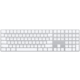 Apple Magic Keyboard s numerickou klávesnicí, bluetooth, stříbrná, UK O2 TV Sport Pack na 3 měsíce (max. 1x na objednávku)