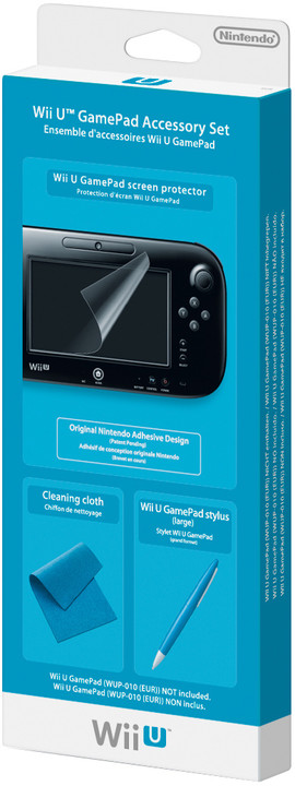 WiiU - GamePad Accessory Set