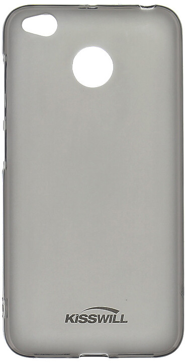 Kisswill TPU pouzdro pro Xiaomi Redmi 4X, černá
