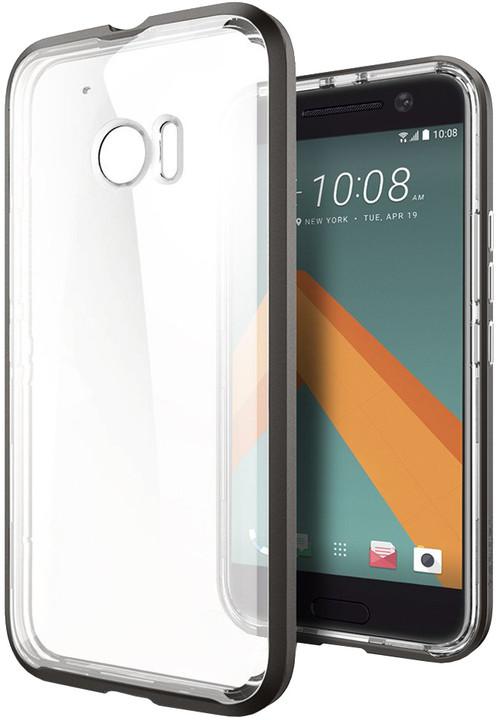 Spigen Neo Hybrid Crystal, gunmetal - HTC 10
