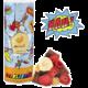 Mixit müsli Mix Čtyřlístek - lyofilizovaným ovoce/kakaové polštářky, 400g