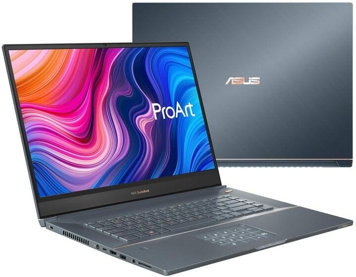 ASUS StudioBook W700G2T, šedá