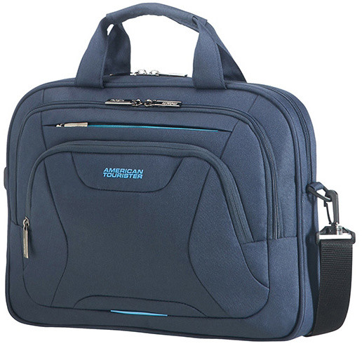 "American Tourister AT WORK LAPTOP BAG 13.3""-14.1"" Midnight Navy"