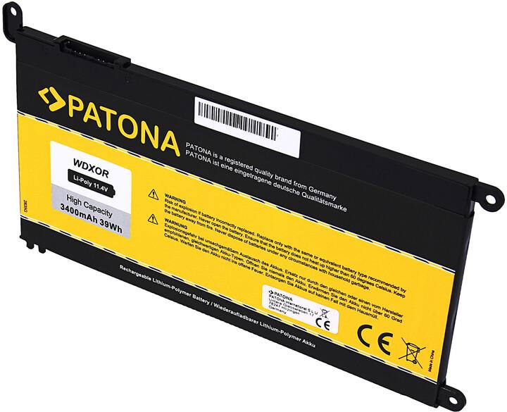 PATONA baterie pro ntb Dell Inspiron 15 5565 3400mAh Li-Pol 11,4V
