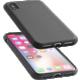 CellularLine ochranný silikonový kryt SENSATION pro iPhone X, černý  + Voucher až na 3 měsíce HBO GO jako dárek (max 1 ks na objednávku)
