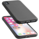 CellularLine ochranný silikonový kryt SENSATION pro iPhone X, černý