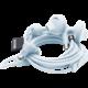 Urbanears Sumpan, bílo-modrá  + Sluchátka Happy Plugs In Ear, oranžová v ceně 650 Kč + Voucher až na 3 měsíce HBO GO jako dárek (max 1 ks na objednávku)